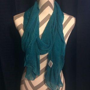 Accessories - Bright blue scarf