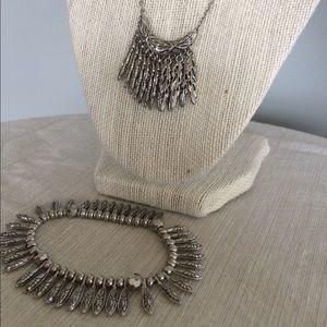 Lia Sophia matching necklace and bracelet set