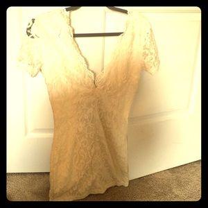 Tobi dress white lace cute design