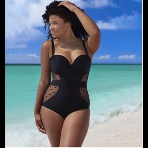 Other - 🏈FLASH SALE🏈 PLUS SIZED SWIMSUIT #SY2243