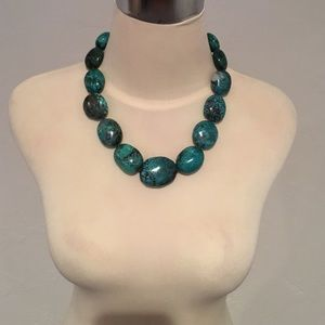 Kenneth Lane Turquoise Stone Necklace