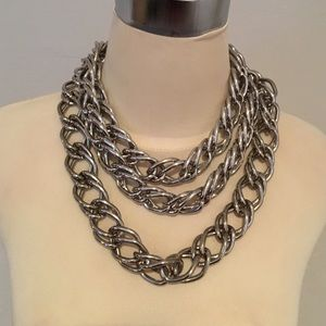 Robert Rodriguez Silver Chain Link Necklace NWT