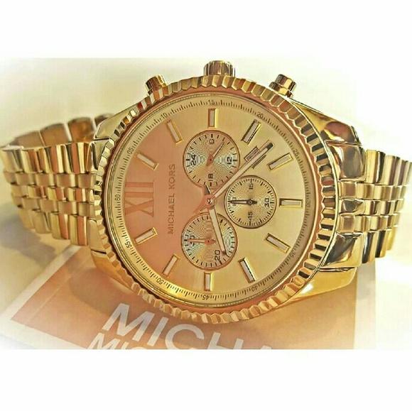 61f409fa67c2 New Men s Michael Kors 45mm Lexington watch MK8281