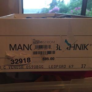 Manolo Blahnik Shoes - Manolo Blahnik leopard print heels