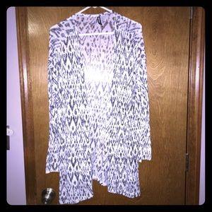 H&M Aztec print cardigan sweater