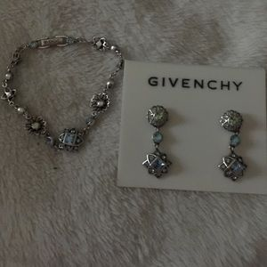 Givenchy Earrings and bracelet set.