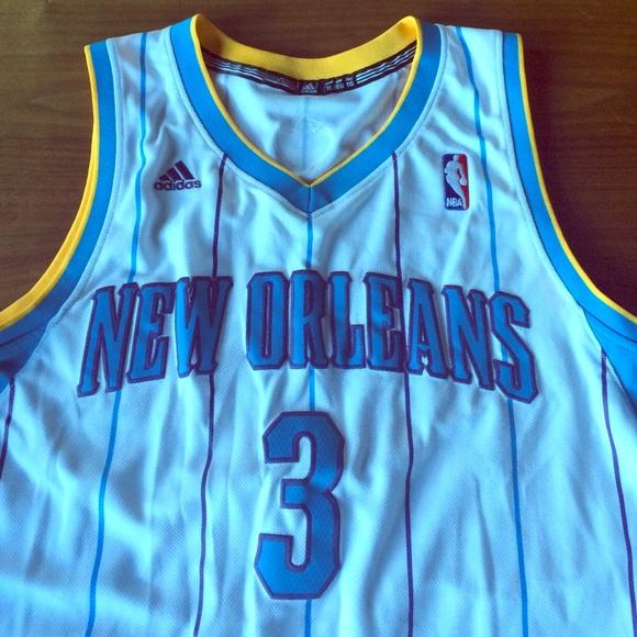 Adidas Tops - Chris Paul New Orleans Hornets NBA Swingman Jersey a019c97a0