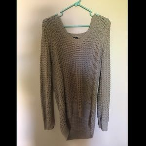 Rue 21 Sweaters - Tan slouchy an oversized sweater