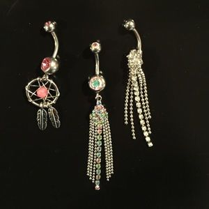 Jewelry - Belly button ring bundle