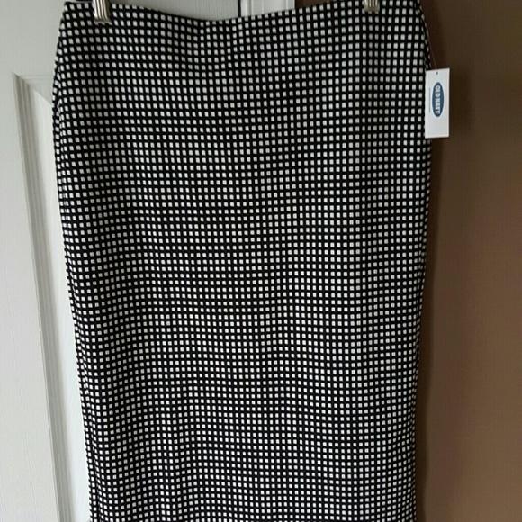 Old Navy Jacquard Knit Skirt Nwt