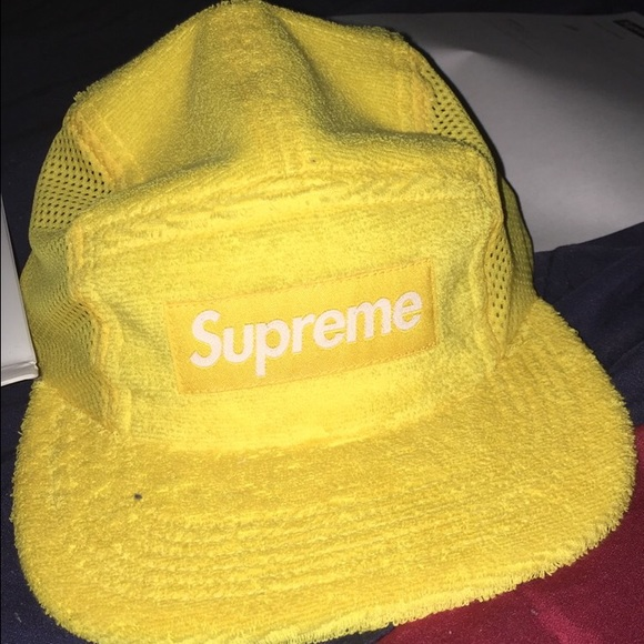 Terry Mesh Side Panel Camp Hat Supreme 20a1f32a57c2