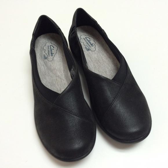 1707924e65f Clarks Shoes - Clark s Cloud Steppers Sillian Jetay Black Shoe