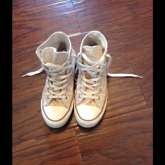 7ac552167d89 Converse Shoes - Converse Chuck Taylor Snowflake Sparkle High Top