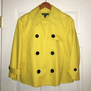 Ralph Lauren Canary Short Peacoat