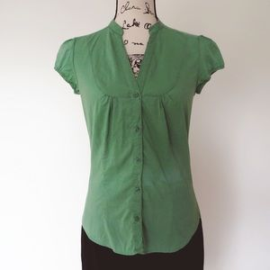 Bershka Tops - Light Green Bershka Blouse