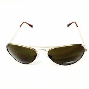 7b4442cfa6 Lucky Brand Accessories - Lucky Brand Classic Gold Frame Aviator Sunglasses