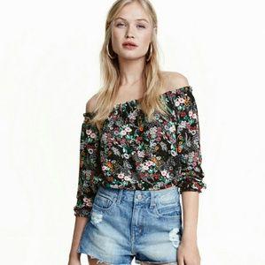 HM floral top