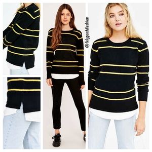 Urban Outfitters UNIF Waffle Mix Pullover