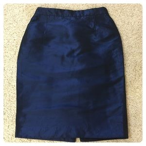 Proenza Schouler silk/poly pencil skirt