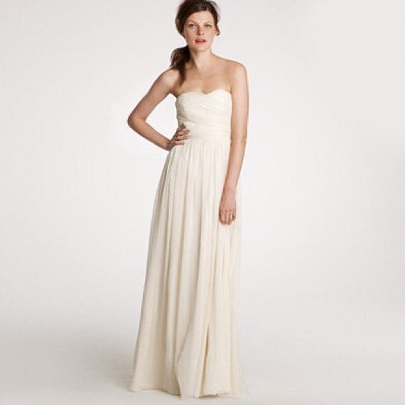 JCrew Arabelle Ivory Wedding Gown