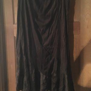 Fashion Bug Dresses & Skirts - Long Fashion bug brown skirt