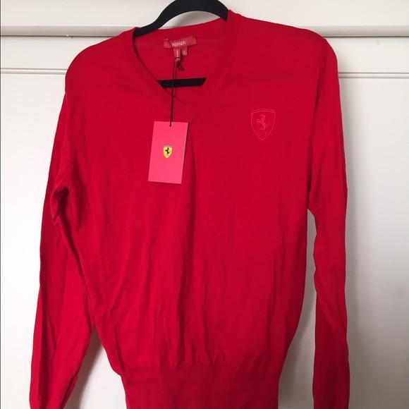 ferrari sweater