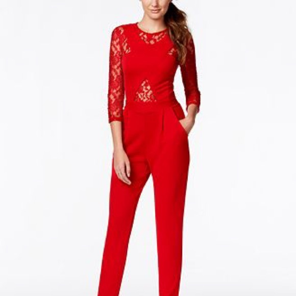 7a29bd86241e Marilyn Monroe red jumpsuit from Macy s. M 573bc60f7fab3a8e820ba3ce