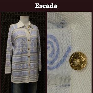 Escada Jackets & Blazers - Escada Sweater Jacket