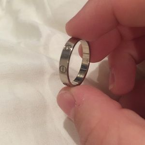 Cartier ring 58
