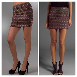 Pleasure Doing Business Dresses & Skirts - Pleasure Doing Business bodycon miniskirt Aztec XS