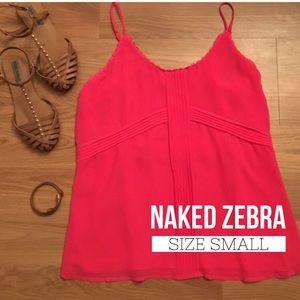 Naked Zebra Tank