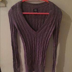 Purple American Eagle sweater