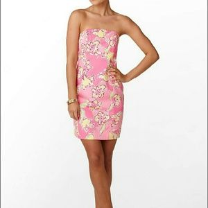Lilly Pulitzer Dresses & Skirts - Lilly Pulitzer Hotty Pink Franco Dress