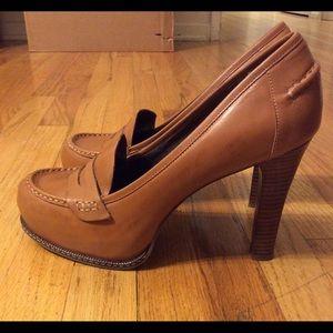 Banana Republic loafer heels