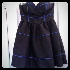 Twelve By Twelve Strapless Mini Dress