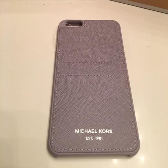 premium selection 97516 721ce Michael Kors Authentic iPhone 6 Plus Card Case Boutique