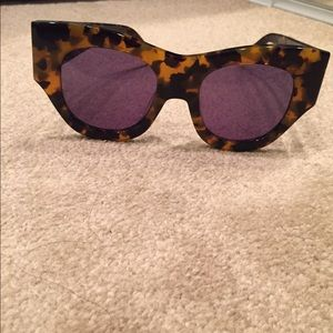 Karen Walker Accessories - Authentic new large Karen walker sunglasses