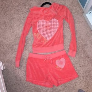 Juicy couture terry cloth set