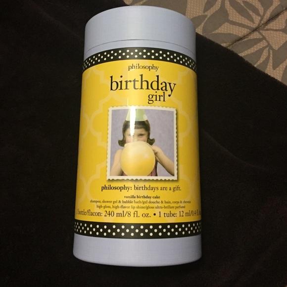 NWT Philosophy Birthday Girl Gift Set M 573c496d2de51202fe0c87f3