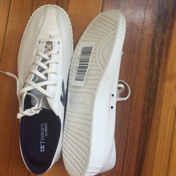 bd12440818308a 53% off Tretorn Shoes - Tretorn eco ortholite canvas sneakers size 9 from  Caroline s closet on Poshmark