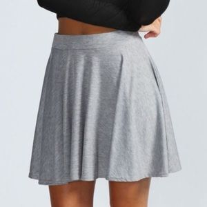 Host Pick Boohoo Jersey Circle Skirt