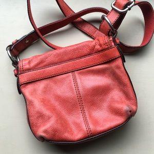 25fb23e9147b Fossil Bags - Fossil Maddox Small Crossbody Bag Distressed Red