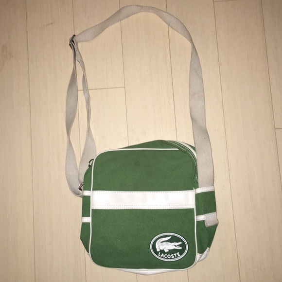 87% off Lacoste Handbags - Lacoste Sporty Crossbody Bag from ...