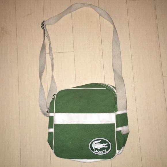 94405f5acb Lacoste Handbags - Lacoste Sporty Crossbody Bag