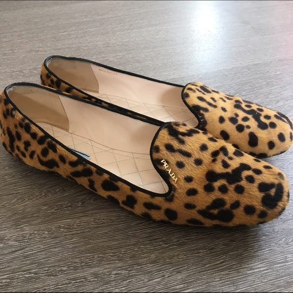 2a270810c404 Prada leopard flats size 11B. M_573c862a4e95a3ebcd00326e. Other Shoes ...