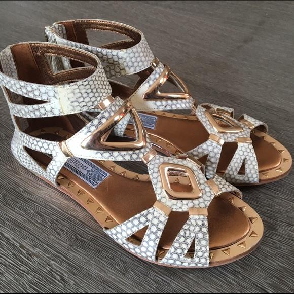 1b2423f5e34 Ivy Kirzhner Shoes - Ivy Kirzhner rose gold gladiator sandal size 6m