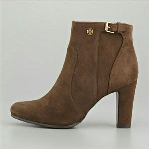 Tory Burch Shoes - 🌟WORN ONCE🌟TORY BURCH SUEDE BOOTIES 🌟LIKE NEW🌟