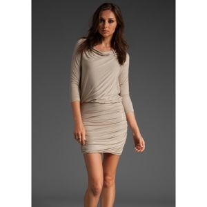 • Theory Lavia ruched dress size P •