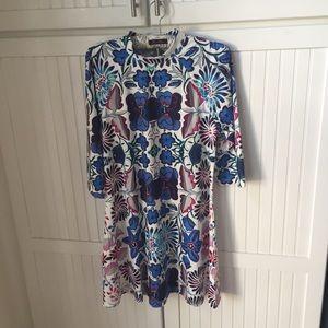 ROMWE Dresses & Skirts - Floral Patterned Swing Dress