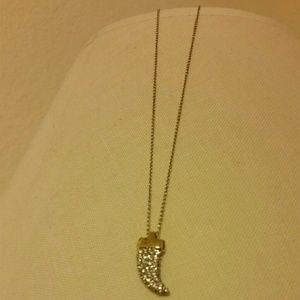 "Banana Republic Jewelry - "" FINAL PRICE"" Horn Necklace"